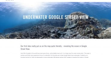 Underwater google street view 360