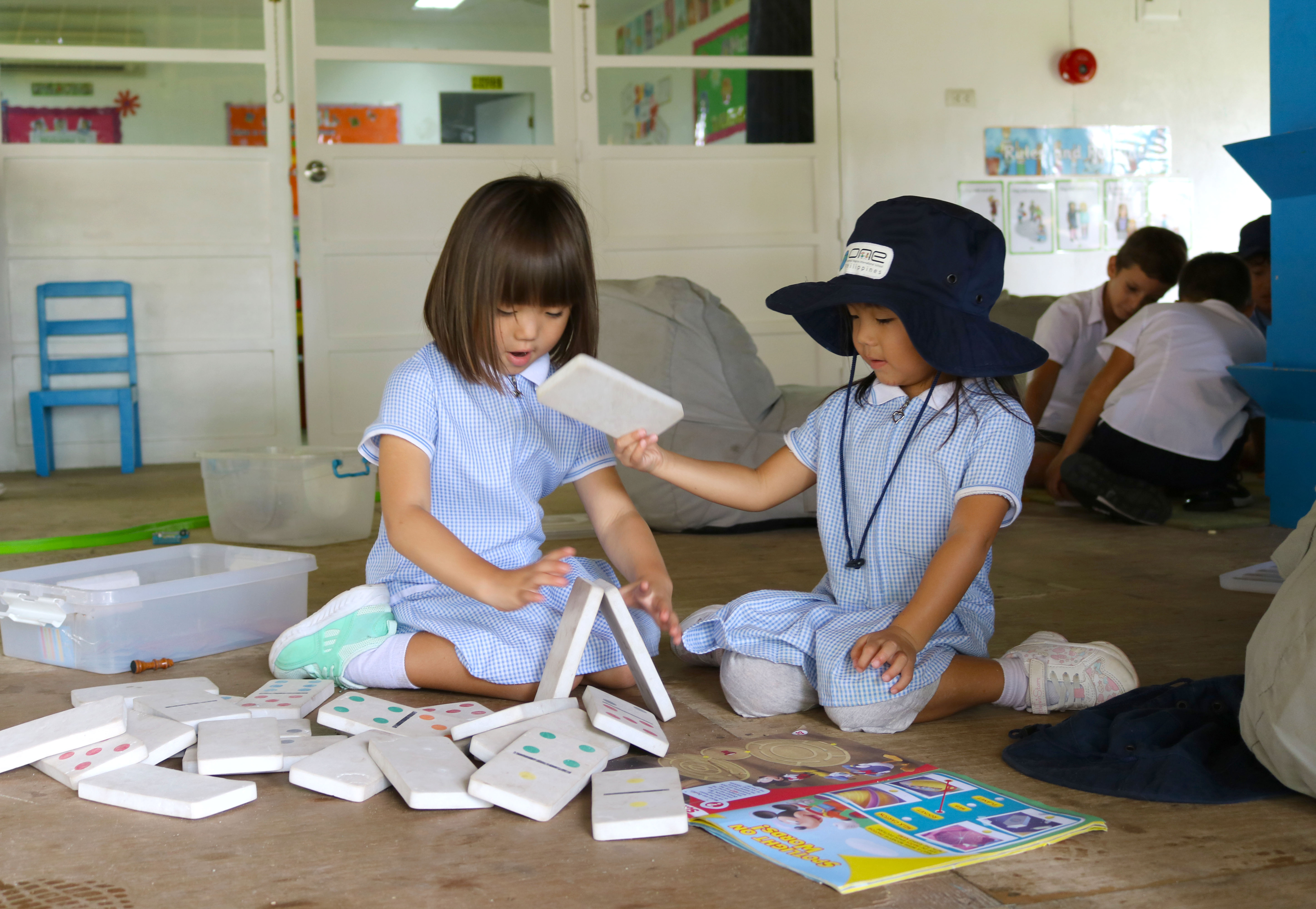 KS1 at ONE International School in Dauin Dumaguete in the Philippines.